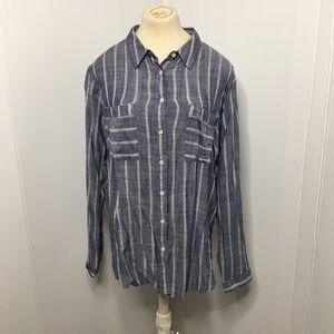 dip Button Down Shirt